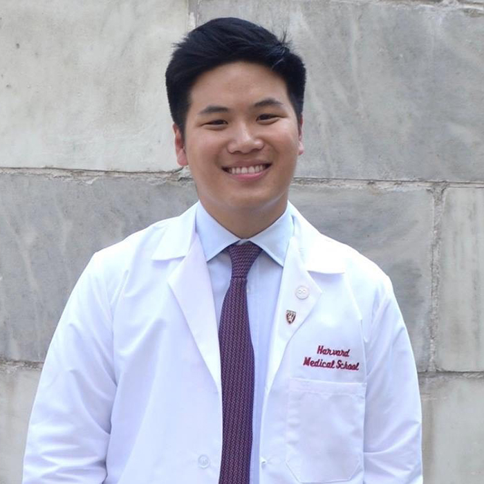 Michael Chang, Harvard Medical School student